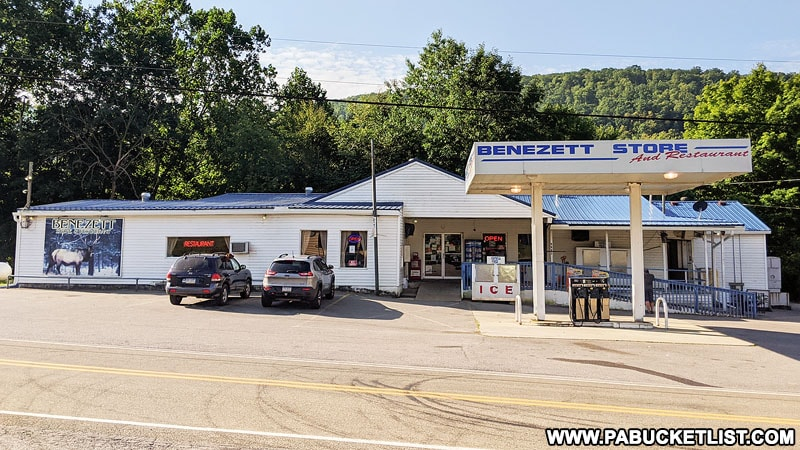 The Benezett Store and Restaurant in Elk County PA