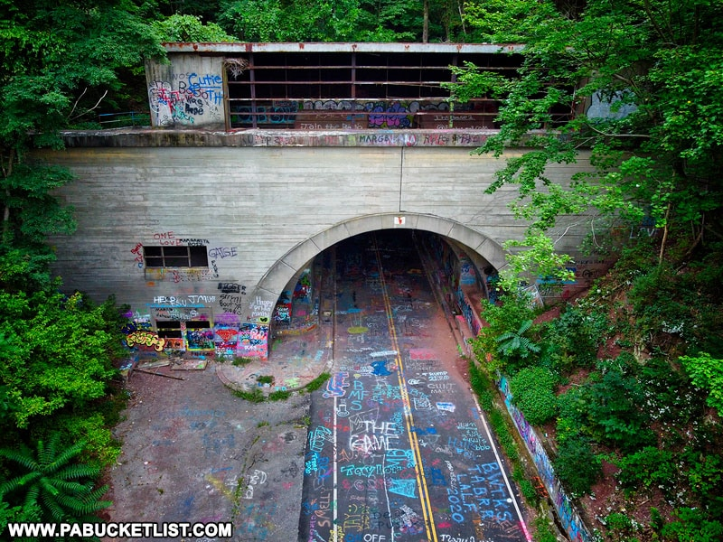 Rays Hill Tunnel on the Abandoned Pennsylvania Turnpike