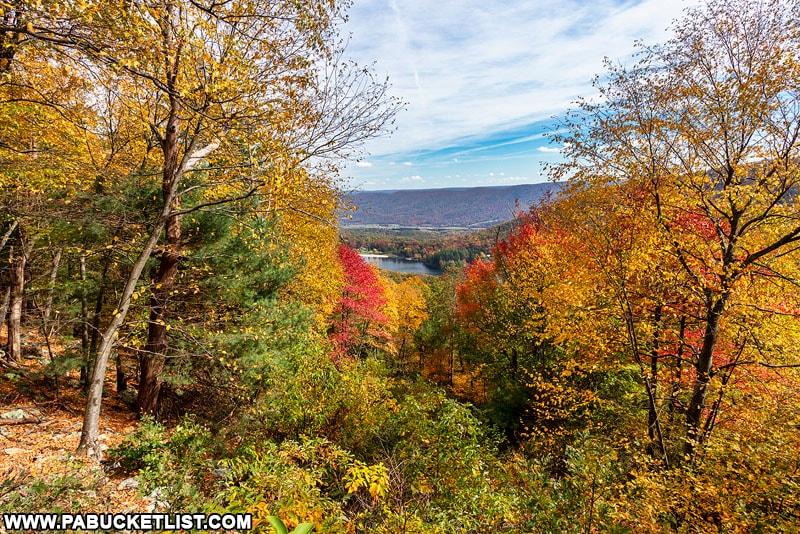 Cowans Gap Overlook in Fulton County PA