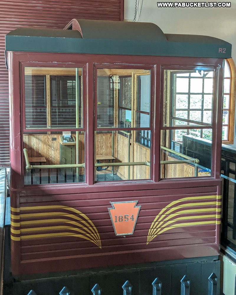 Funicular at the Horseshoe Curve in Altoona.