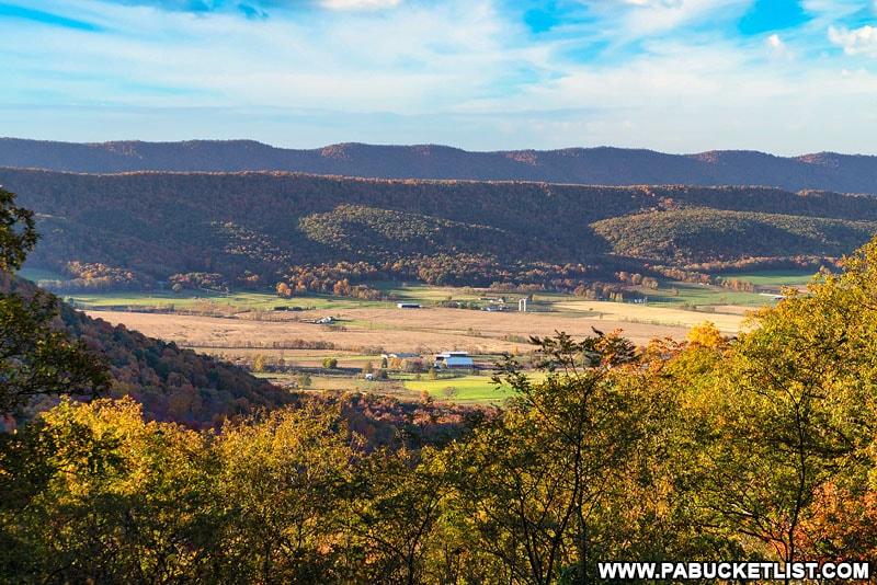 Rainsburg Vista in the Buchanan State Forest