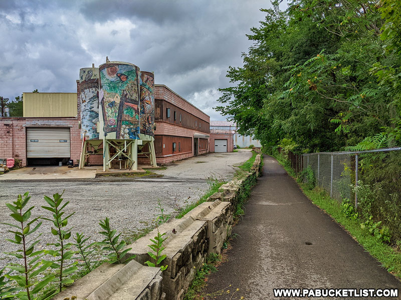 The Great Allegheny Passage in Connellsville.