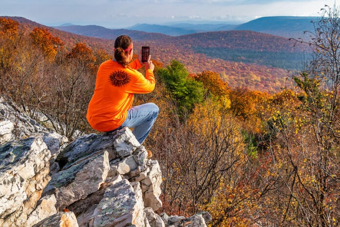 Rusty Glessner at Indian Wells Overlook in Centre County Pennsylvania