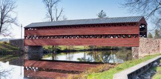 Sachs Covered Bridge in November 2020.