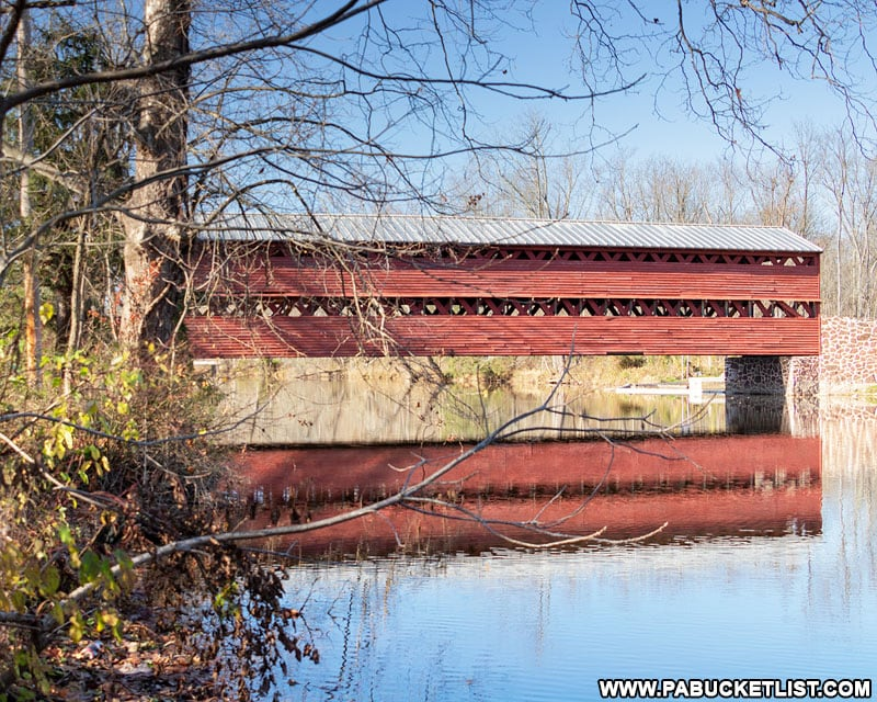 How to find Sachs Covered Bridge near Gettysburg Pennsylvania.