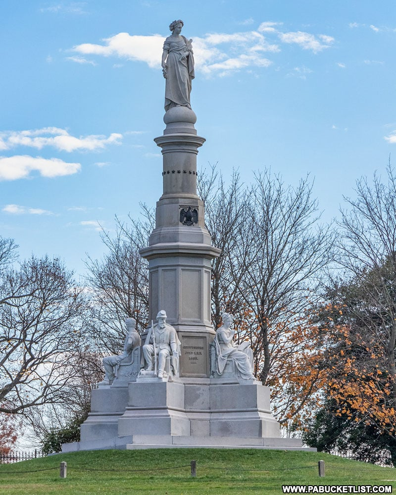Soldiers' National Monument at the Gettysburg National Cemetery.