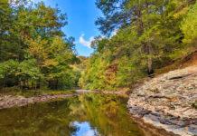 Trough Creek in Huntingdon County Pennsylvania.
