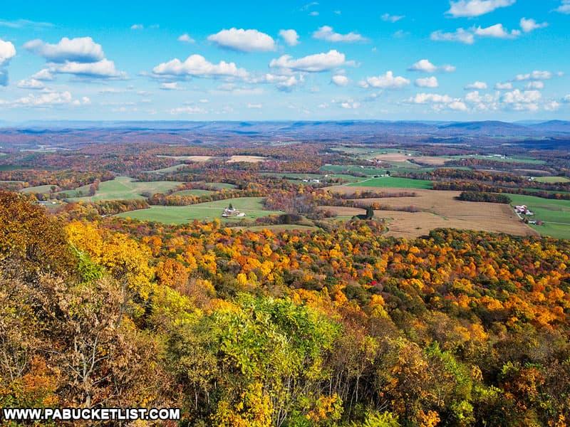 Summit Road Vista in Fulton County Pennsylvania.