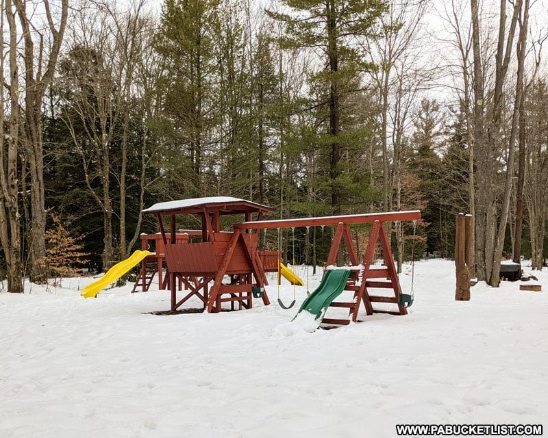 The playground at Bilgers Rocks.