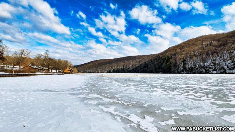 Laurel Hill Lake in Somerset County.