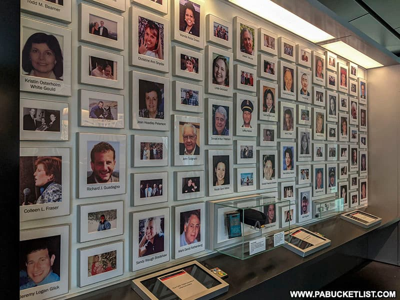 A tribute to the passengers and crew of Flight 93.
