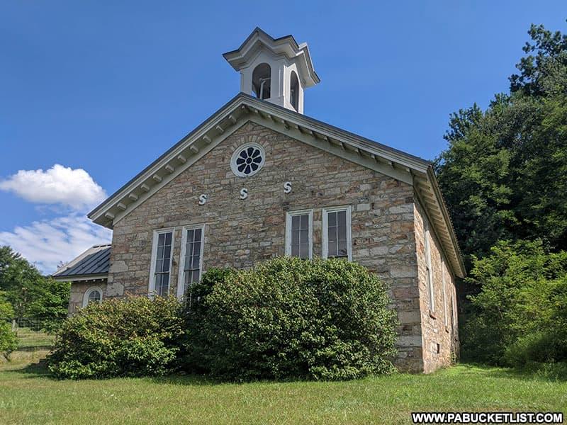 Greenwood Furnace Church.