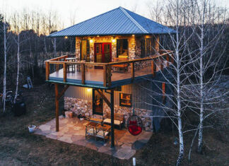 Firetower chalet vacation rental cabin in the Poconos.