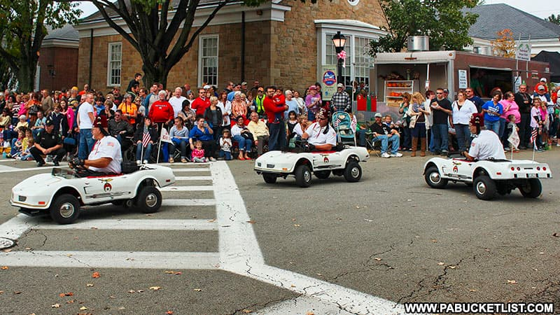 The Shriners in the Fort Ligonier Days parade.