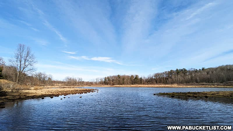10 Acre Pond near the ghost town of Scotia.