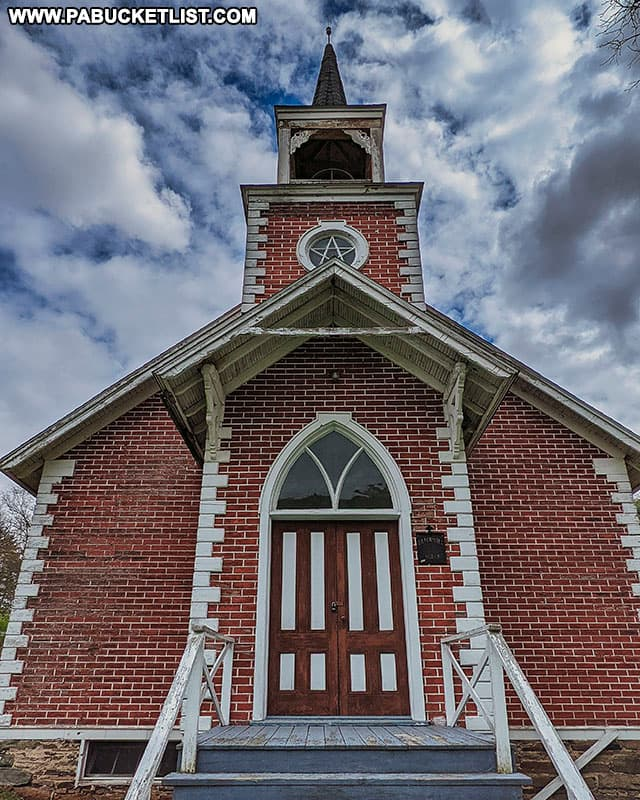The Blackwell Community Church in Tioga County Pennsylvania.