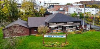 Fort Bedford Museum in downtown Bedford Pennsylvania.