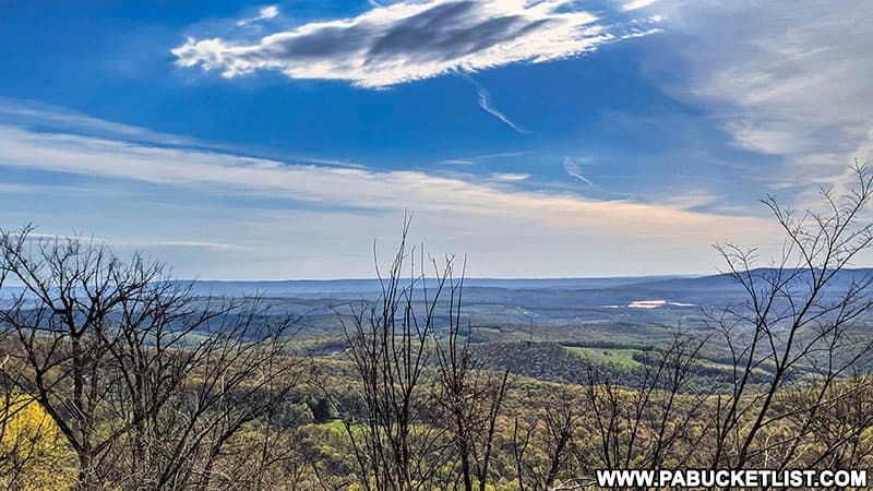 Grand View Point along the Old Lincoln Highway on Bedford County, PA