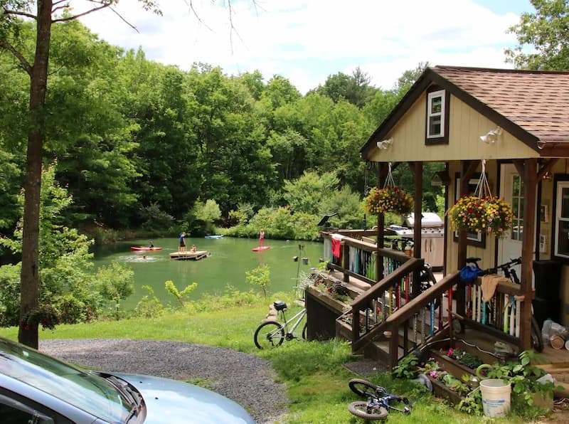 A vacation rental home near Fort Bedford Pennsylvania