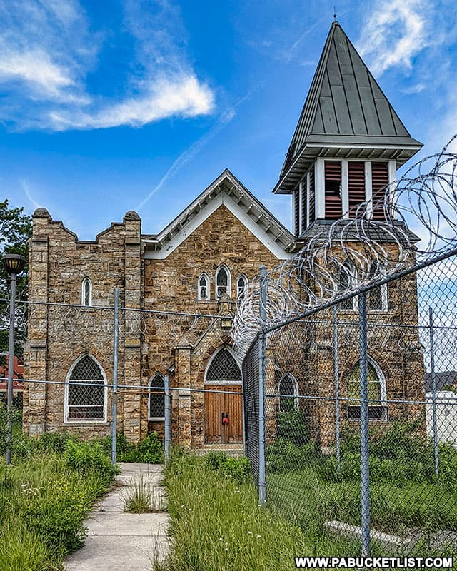 Grace Chapel at the abandoned SCI Cresson.
