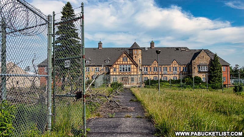 A structure from the era of the Cresson Tuberculosis Sanatorium and later SCI-Cresson.