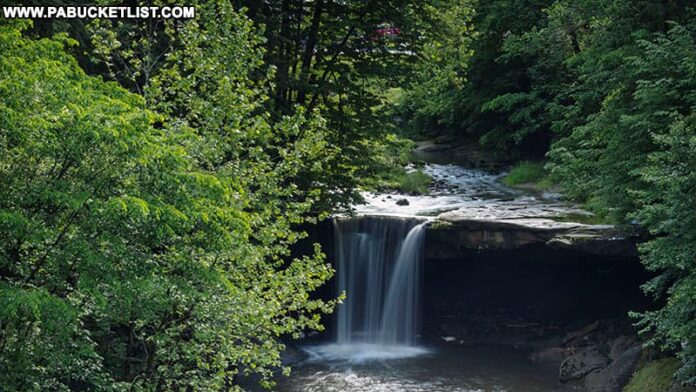 Big Run Falls at Cascade Park in Lawrence County.