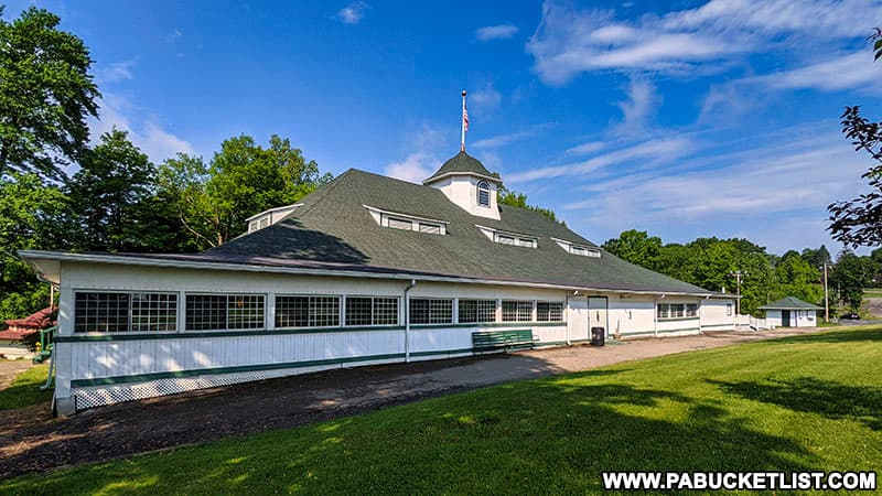 The dance hall at Cascade Park in New Castle was once the largest dance hall in Pennsylvania.