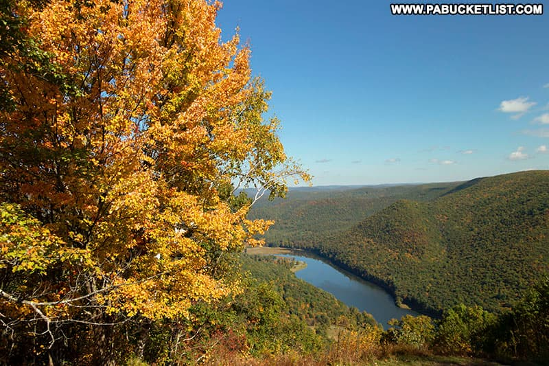 Early October at Kettle Creek Vista in Clinton County.