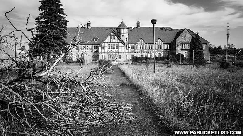 The abandoned sanatorium at the former SCI Cresson in Cambria County.