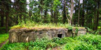 Ruins of the secret German POW camp in Cumberland County Pennsylvania.