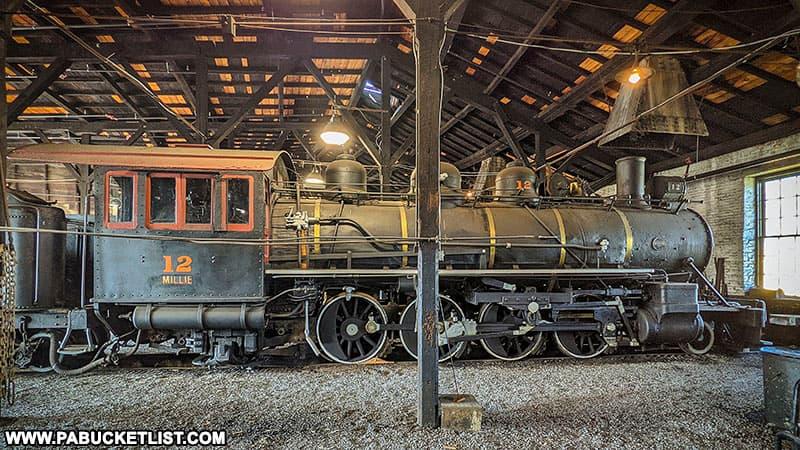 """Engine number 12, nicknamed """"Millie""""."""