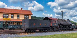 The East Broad Top Railroad in Huntingdon County, Pennsylvania.