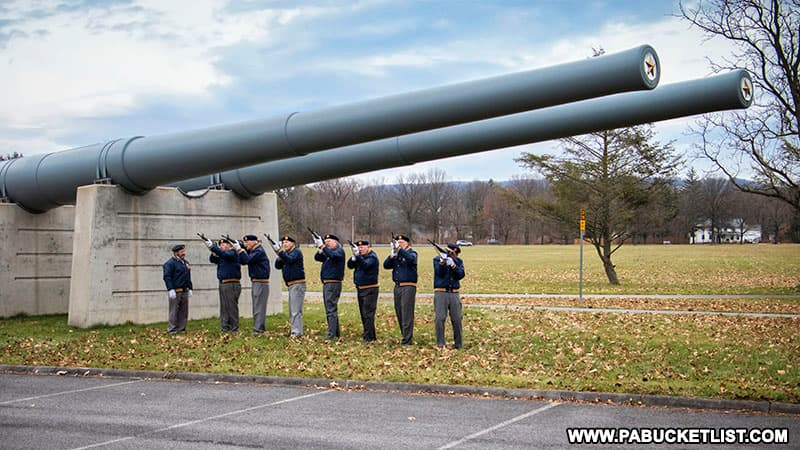 Pearl Harbor Day Remembrance at the Pennsylvania Military Museum.