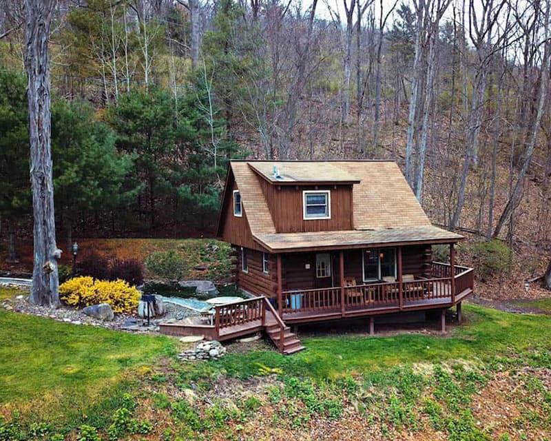 Vrbo rental in the Pine Creek Gorge.