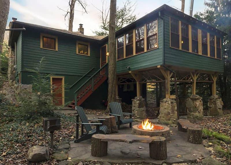 Vrbo rental in the Laurel Highlands.