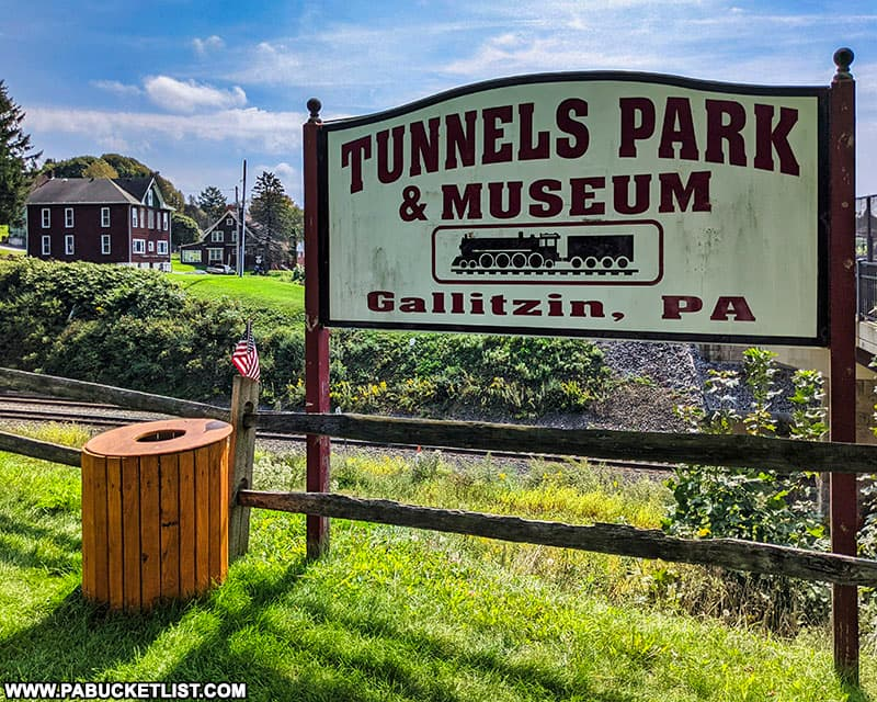 Tunnels Park and Museum in Gallitzin, PA.