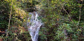 Luke's Falls at Lehigh Gorge State Park.