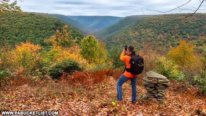 The author at Red Run Gorge Vista on October 12th, 2021.